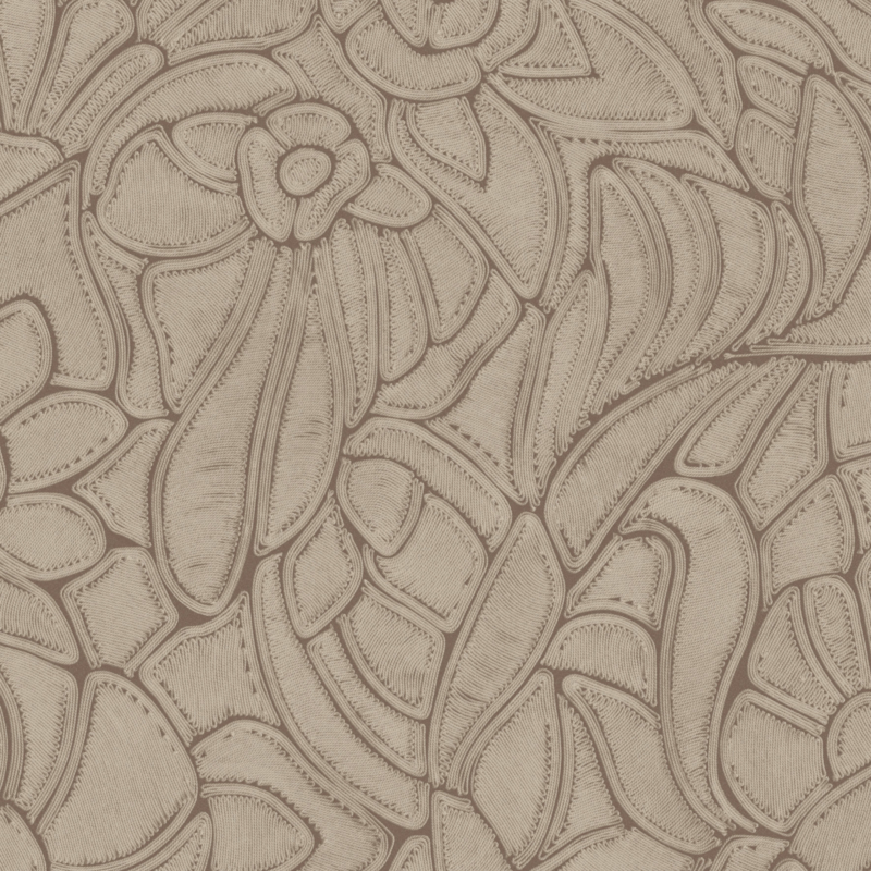 Arte Manila behang Flore Terracotta 64542