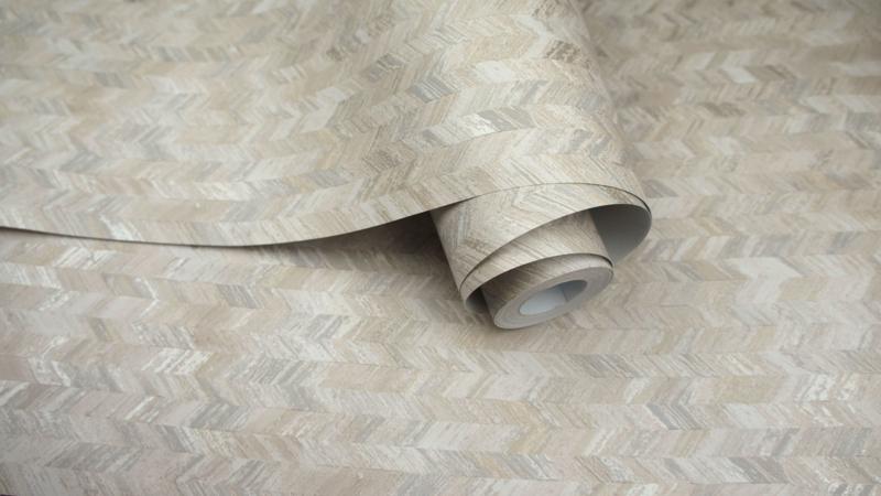 Dutch First Class Amazonia behang Saram Texture Neutral 91294