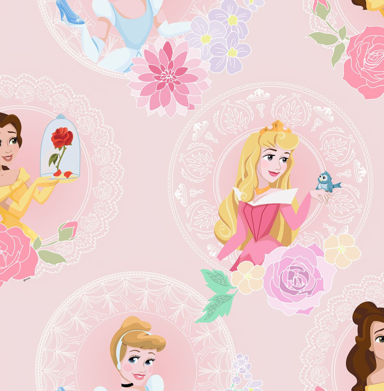 Noordwand Kids@Home Inidvidual behang Pastel Princess 108593