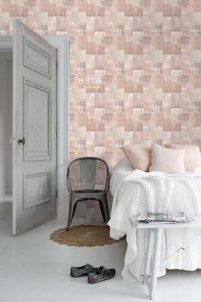 Esta Home Boho Chic Patchwork behang 148651