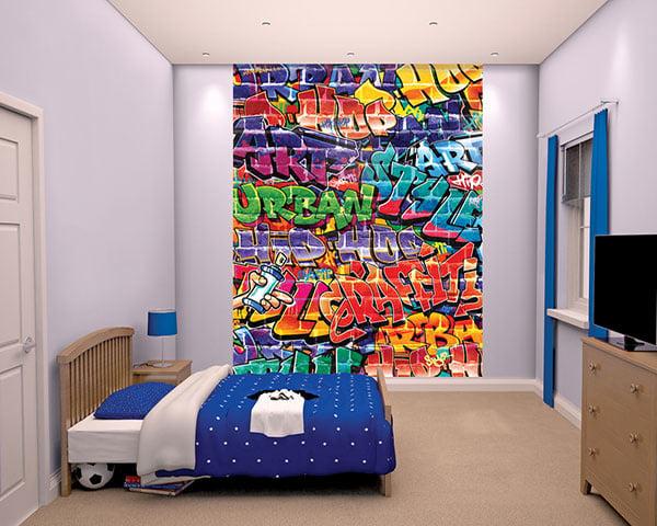 Walltastic 3D Graffiti