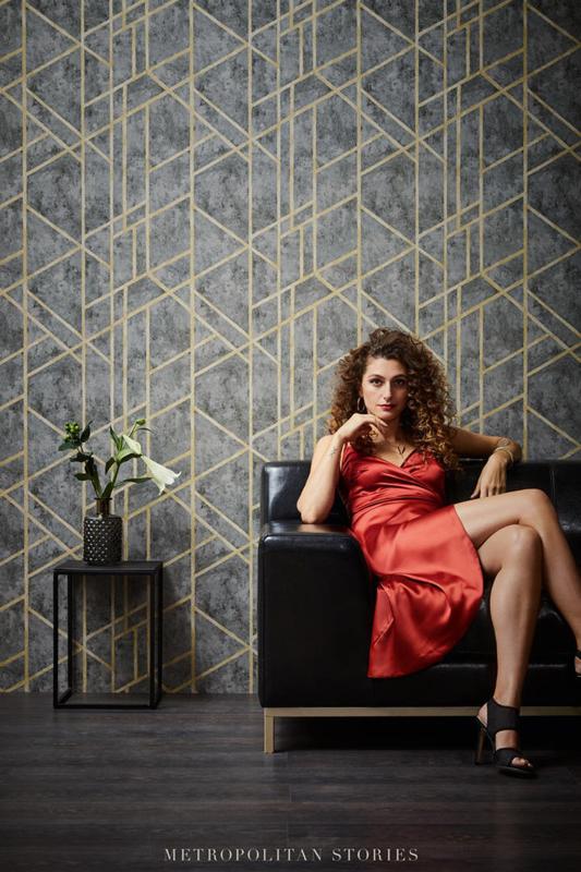 Living Walls Metropolitan Stories behang Francesca Milano 36928-1