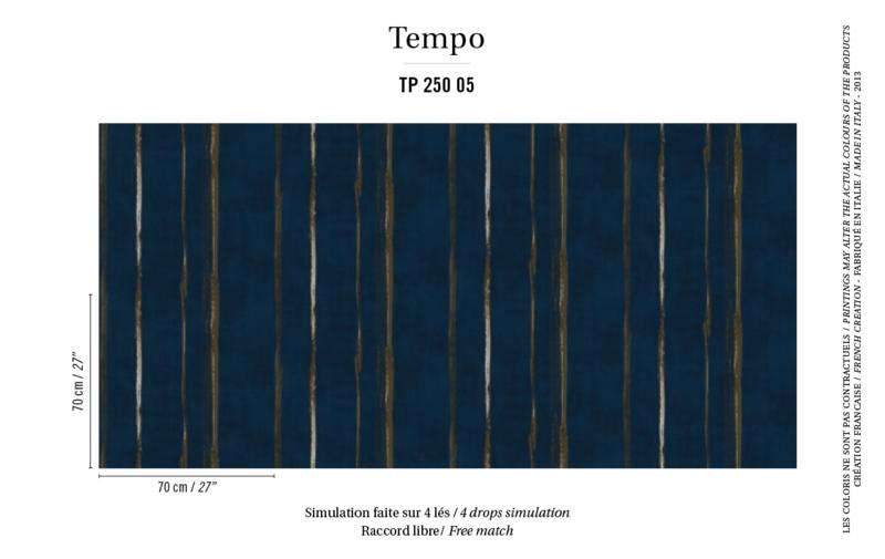 Élitis Tempo behang Salsa TP 25005