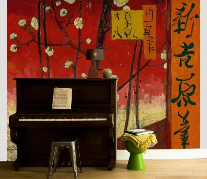 BN van Gogh 2 Digital 200327 Flowering Plum Orchard