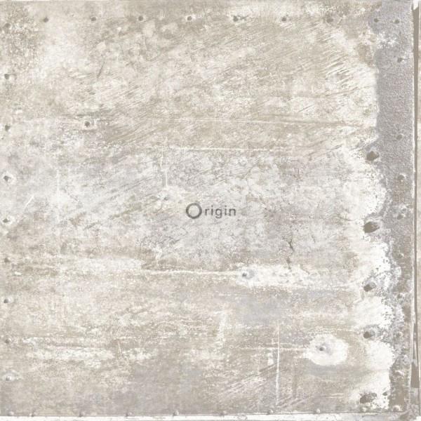 Origin Matières-Metal behang 337230