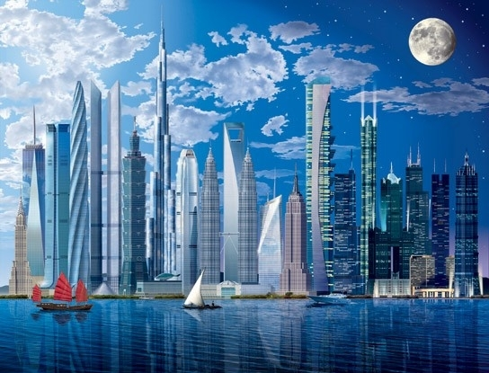 Idealdecor World`s tallest Buildings 120