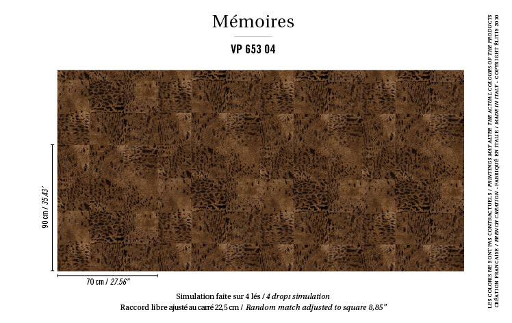 Élitis Mémoires behang Panthère VP 65304