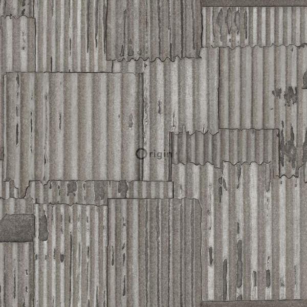 Origin Matières-Metal behang 347618
