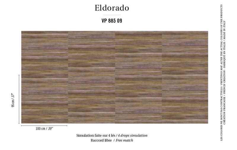 Élitis Eldorado Isola behang VP 885 09