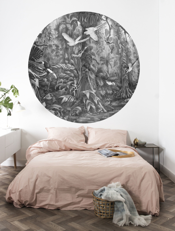 KEK Amsterdam Landscapes & Marble behangcirkel Tropical Landscape CK-006