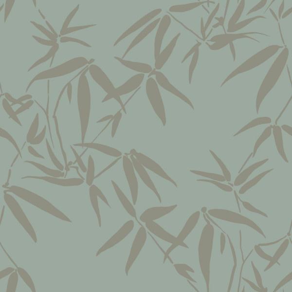 Origin City Chic behang Bamboe Bladeren 347736