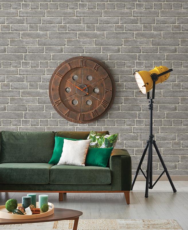 Dutch Restored Brick Façade behang 24050