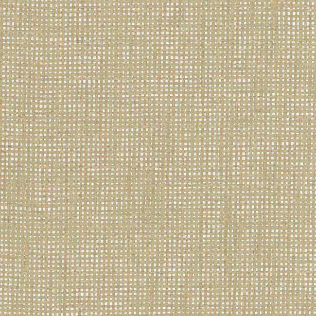 York Wallcoverings Grasscloth Volume II behang VG4426 Woven Crosshatch