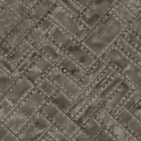 Origin Matières-Metal behang 337244