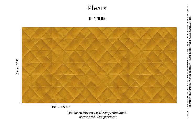Élitis Pleats behang Mis en Plis TP 17006