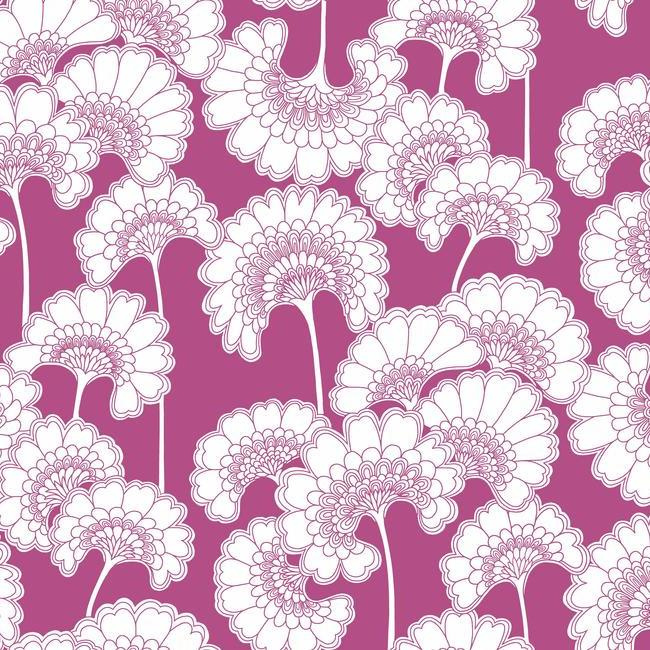 York Wallcoverings Florence Broadhurst behang Japanese Floral FB1467