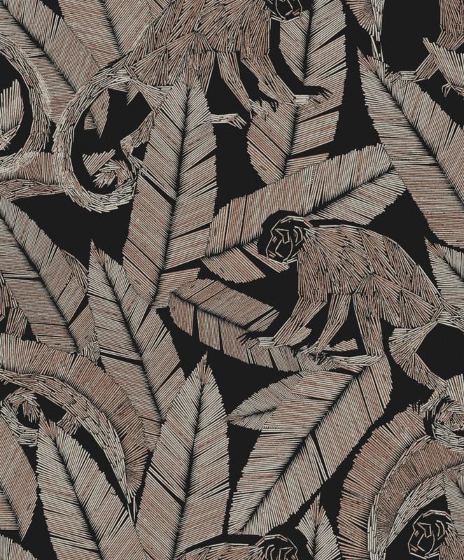 Khrôma Tribute behang Monkey Night TRI001