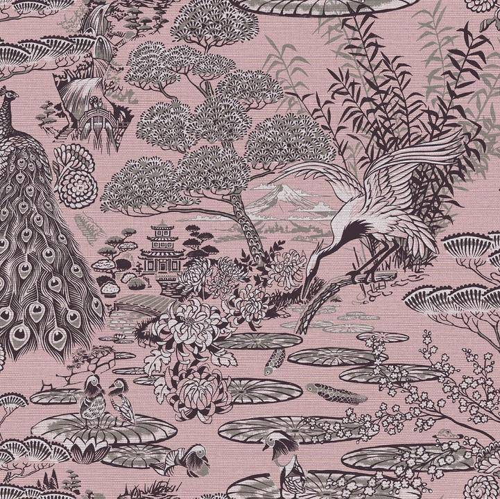 Arte Curiosa behang Lotus 13501
