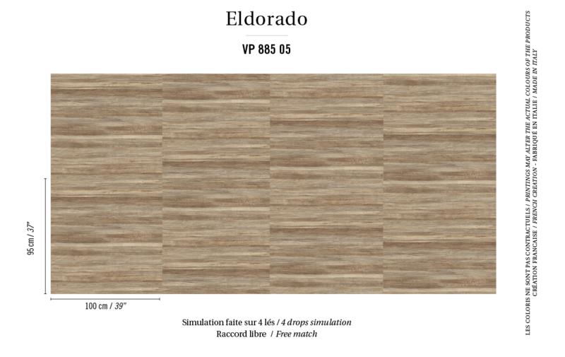 Élitis Eldorado Isola behang VP 885 05