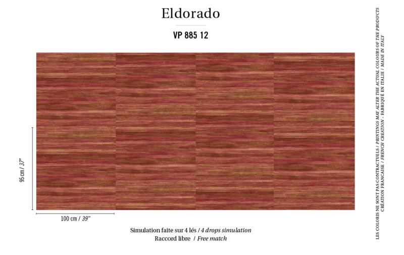 Élitis Eldorado Isola behang VP 885 12
