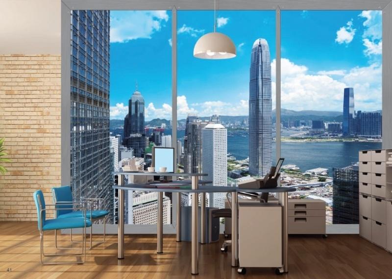 AG Design Fotobehang Hong Kong FTS1318