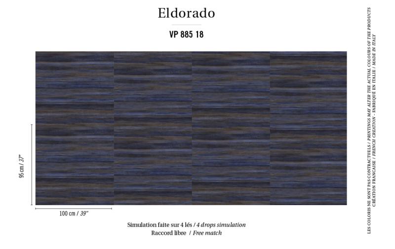 Élitis Eldorado Isola behang VP 885 18