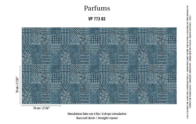 Élitis Parfums behang Vetiver VP 77303