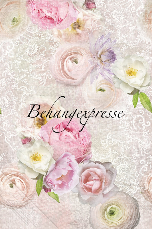 Behangexpresse COLORchoc Wallprint Lacy Spring INK 6064