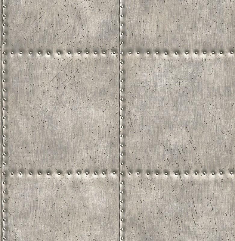 Dutch Reclaimed behang FD22343 Sheet Metal Steel