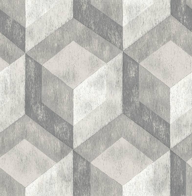 Dutch Reclaimed behang FD22306 Rustic Wood Tile