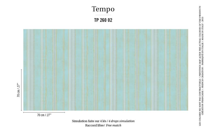 Élitis Tempo behang Mambo TP 26002