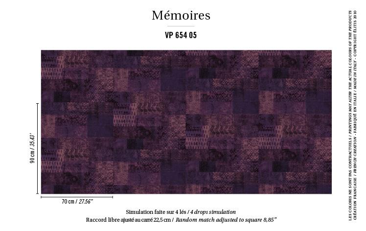 Élitis Mémoires behang Kilim VP 65405