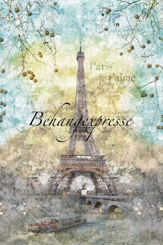Behangexpresse COLORchoc Wallprint Love Paris INK 6079