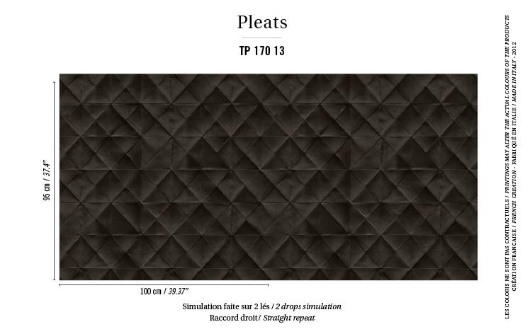Élitis Pleats behang Mis en Plis TP 17013