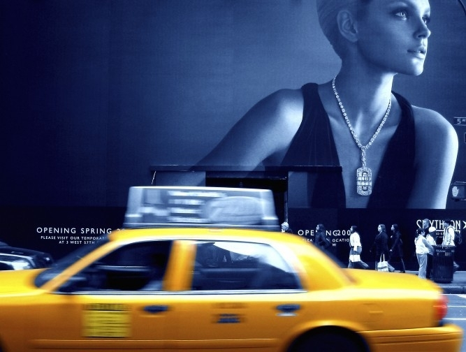 No Limits Fotobehang Yellow cab 30307