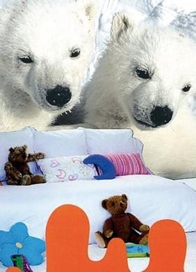 Evolution The Great Zoo Fotobehang Polor Bears 1006