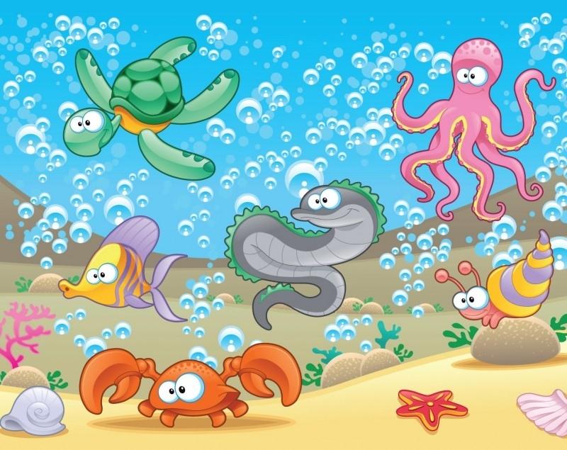Dutch DigiWalls Fotobehang 70085 Onderwater