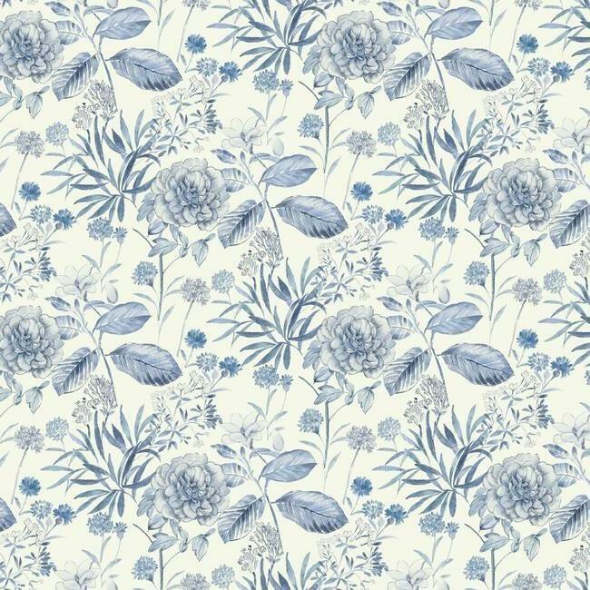 York Wallcoverings Handpainted Traditionals behang Midsummer Floral TL1921