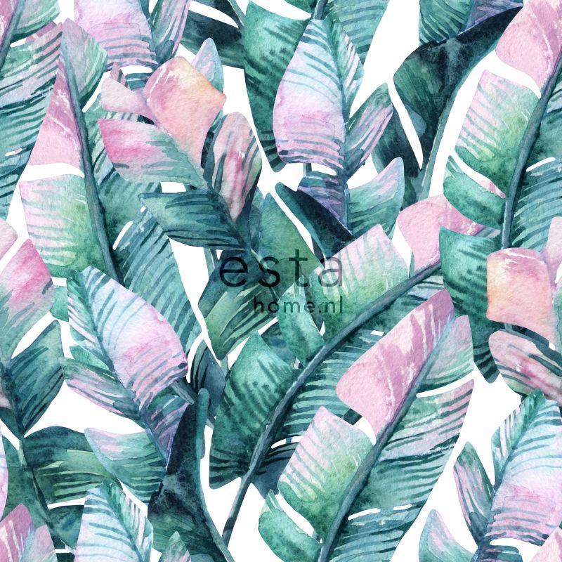 Esta Home Jungle Fever Wallpaper XXL Bananenbladeren 158896