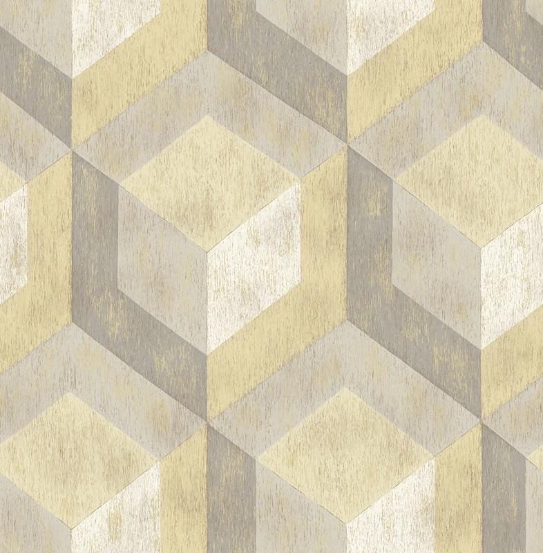 Dutch Reclaimed behang FD22309 Rustic Wood Tile