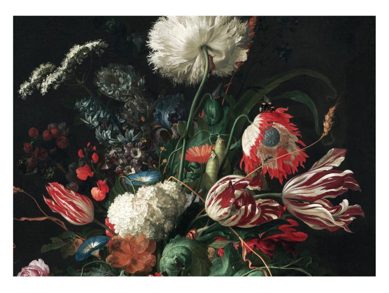 KEK Amsterdam Wonderwalls behang Golden Age Flowers I WP-220