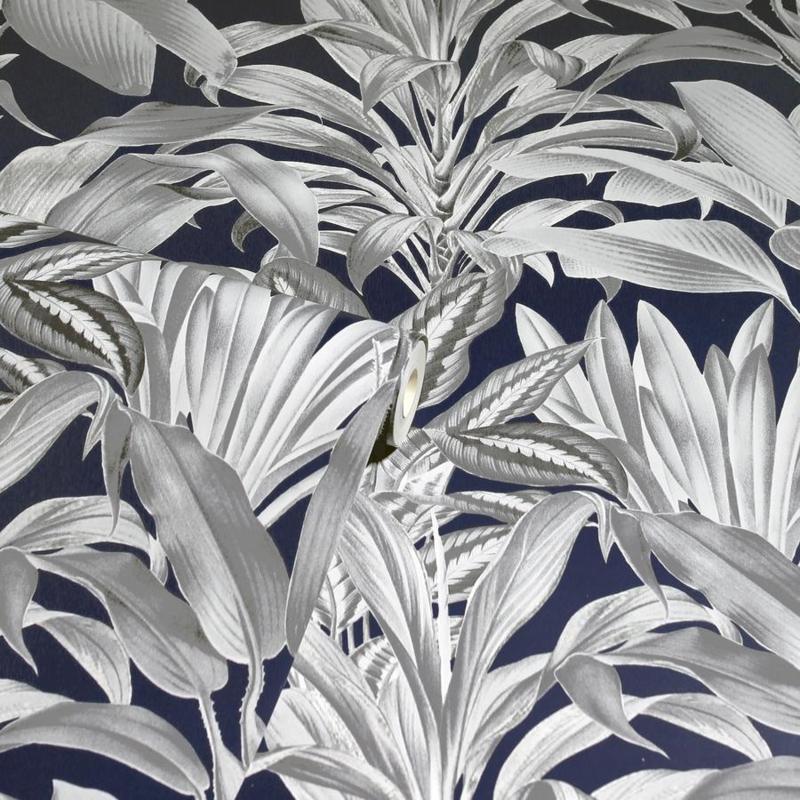 Arthouse Greenhouse Plants Navy behang 909501