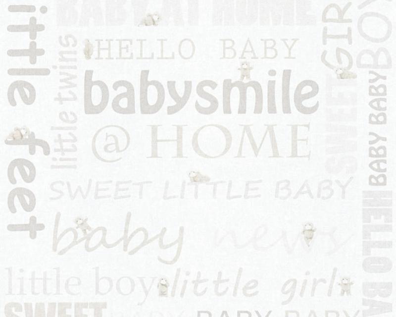 AS Creation Little Stars Babysmile behang 35847-1