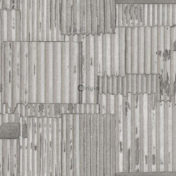 Origin Matières-Metal behang 347615