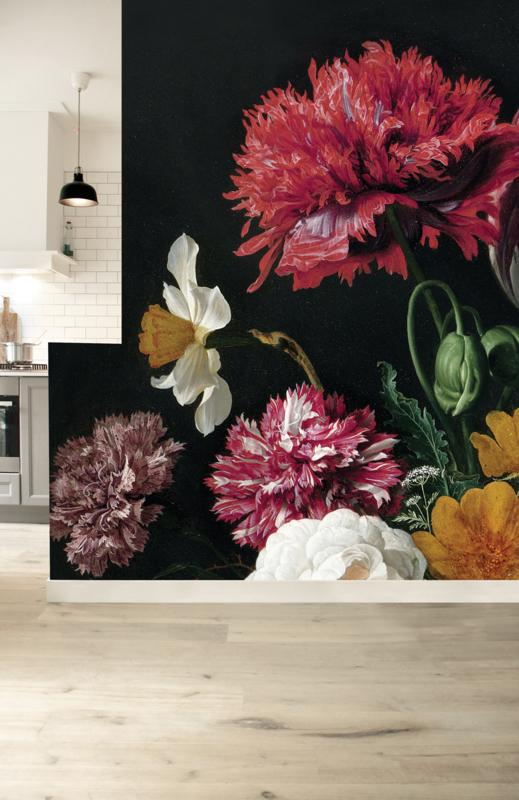 KEK Amsterdam Wonderwalls behang Golden Age Flowers II WP-221