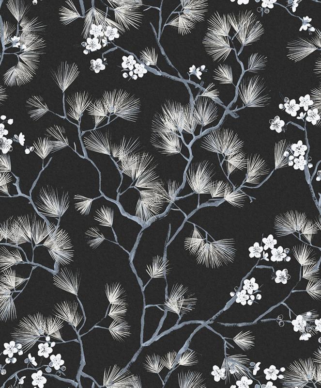 Khrôma Kimono behang Haru Night KIM105