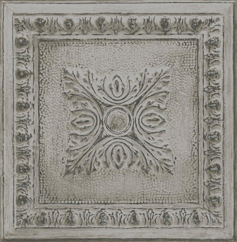 Dutch Restored Ornament Tile behang 24034