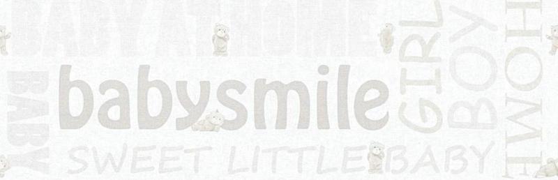 AS Creation Little Stars Babysmile behangrand 35848-2