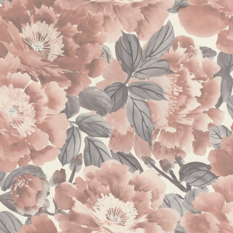 Rasch Kimono behang Sumptuous Blossoms 408331
