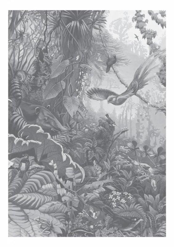 KEK Amsterdam Landscapes & Marble behang Tropical Landscapes WP-603